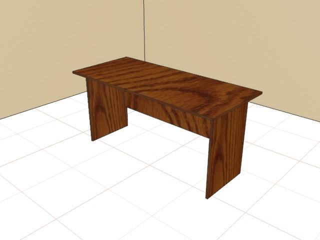 Стол письменный 750х1200х600