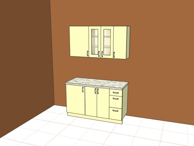 Кухня ширина 1300мм