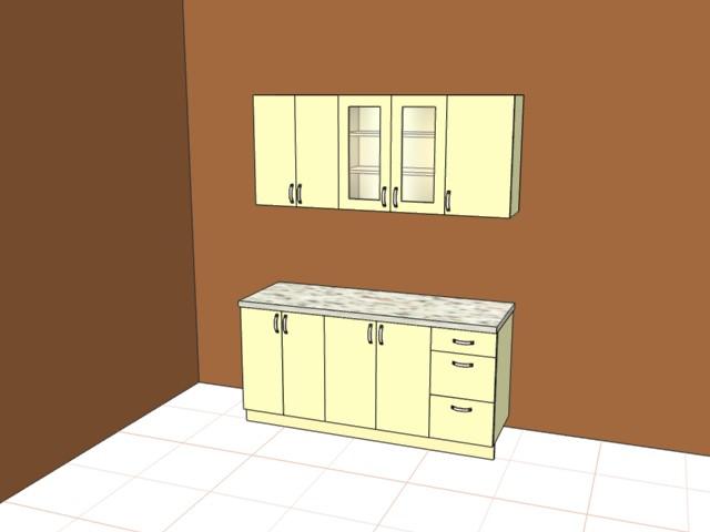 Кухня ширина 1700мм