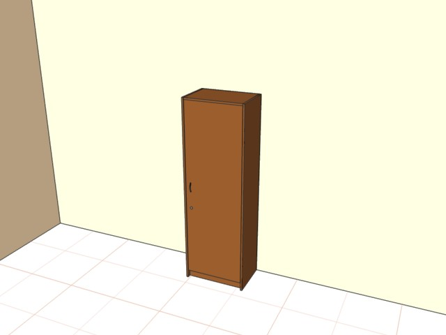 Шкаф  с дверью