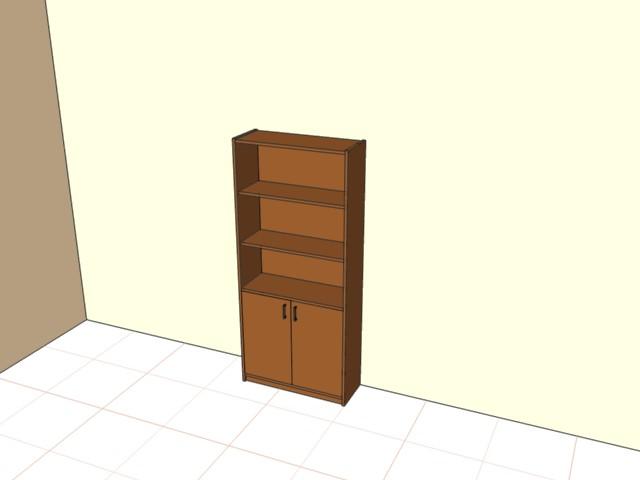 Шкаф с дверьми 2\5